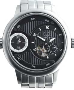 CURTIS & Co - Big Time Passport Black / Stainless Steel Case