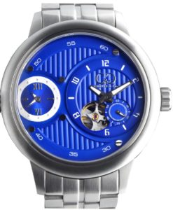 CURTIS & Co - Big Time Passport Blue / Stainless Steel Case