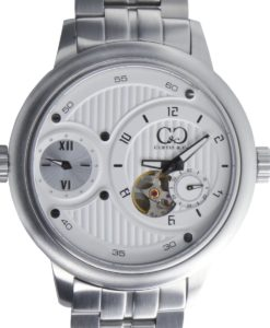 CURTIS & Co - Big Time Passport White / Stainless Steel Case