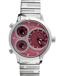 Curtis & Co Watches 42mm - Pink Dial/Stainless Steel Case