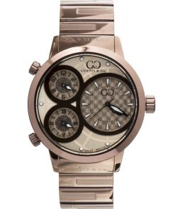 Curtis & Co Watches 42mm - Rose Gold Dial/Brown Case