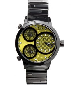 Curtis & Co Watches 42mm - Yellow Dial/BlackCase